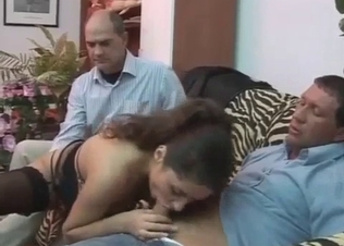Dad walks in on the incestuous fucking