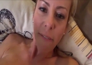 Busty MILF with a landing strip gets ruined
