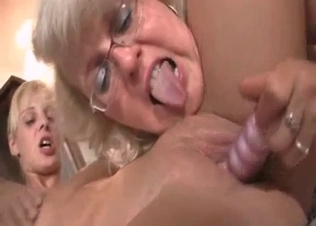 Skinny blonde fucked by her kinky parents